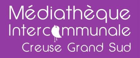 Logo médiathèque creuse grand sud
