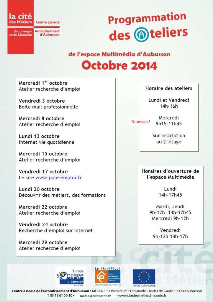 ateliers mefaa octobre 2014