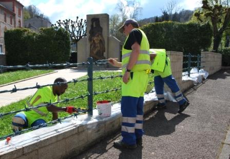 grilles monuments rue de Beauze pour site
