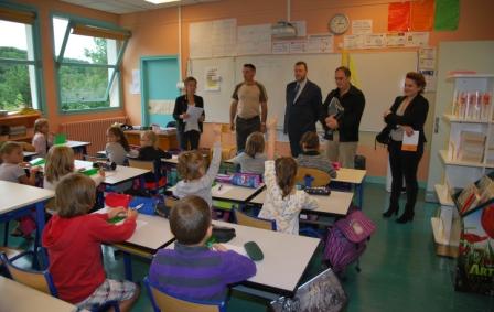 visite MM dans la classe de M. Foussadier  site
