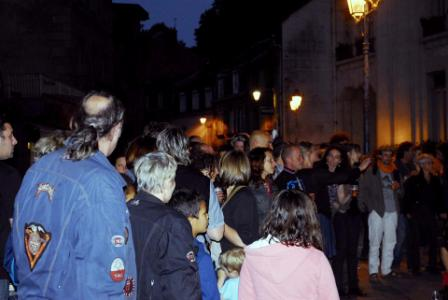 Foule groupe central