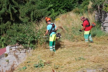 Christophe et Jean-Paul en action site