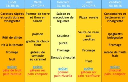 menu 43 ALSH