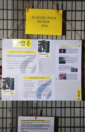 10 jours pour signer Amnesty
