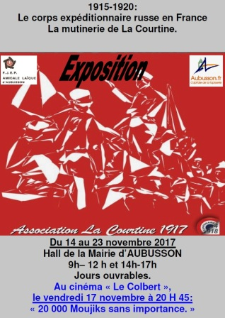 affiche AL expo la courtine