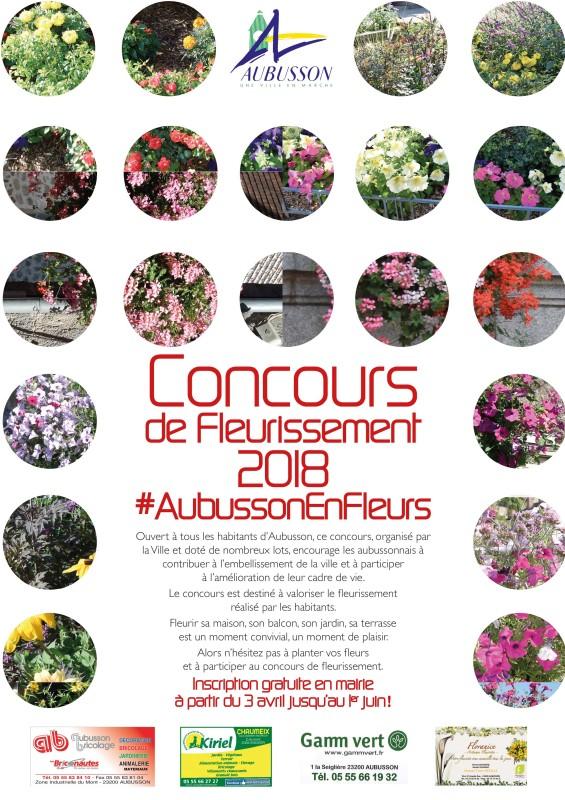 concours de fleurissement 2018