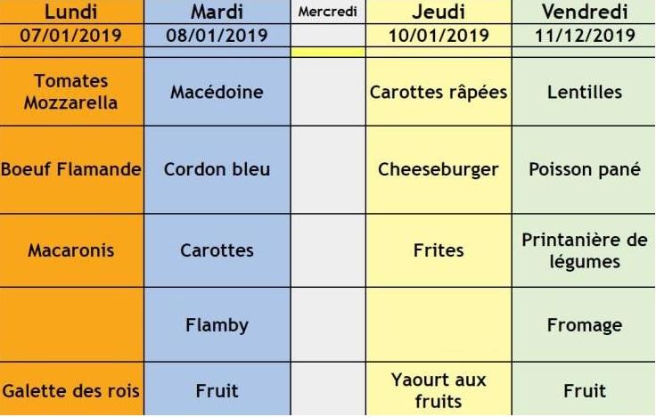 menu semaine 2 OK