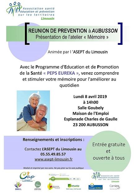 Affiche RP Aubusson