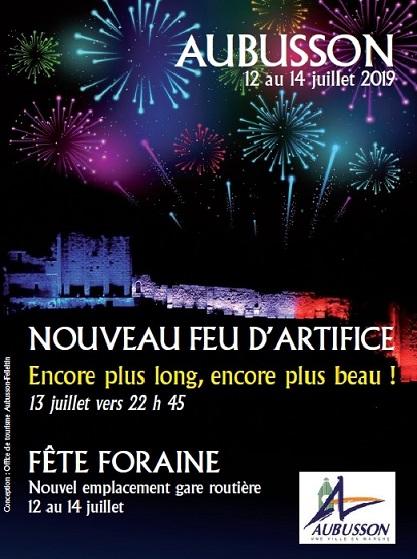 Affiche feu et fête foraine juillet 2019 (2)