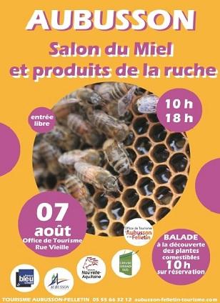 affiche salon du miel 2019 (2)