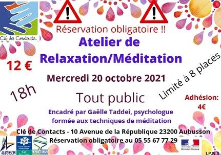atelier méditation site