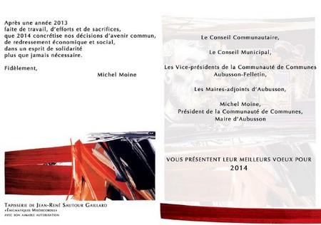 Texte pour carte de voeux mairie